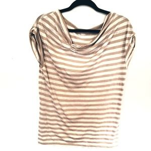 Ann Taylor lightweight stripped shirt size L